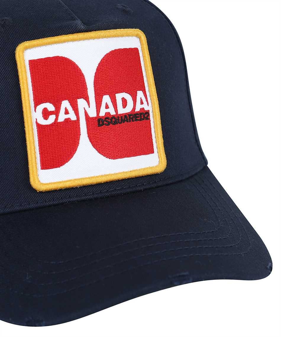 Dsquared2 BCM0415 05C00001 CANADA PATCH Čiapka 3
