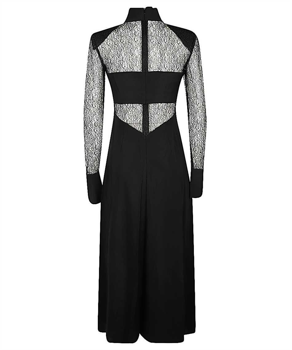 Karl Lagerfeld 206W1305 LACE AND SILK MIDI Dress 2