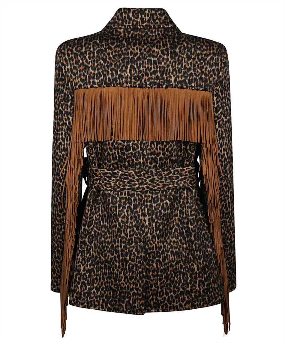 Saint Laurent 630896 Y3B52 LEOPARD-PRINT Jacket 2