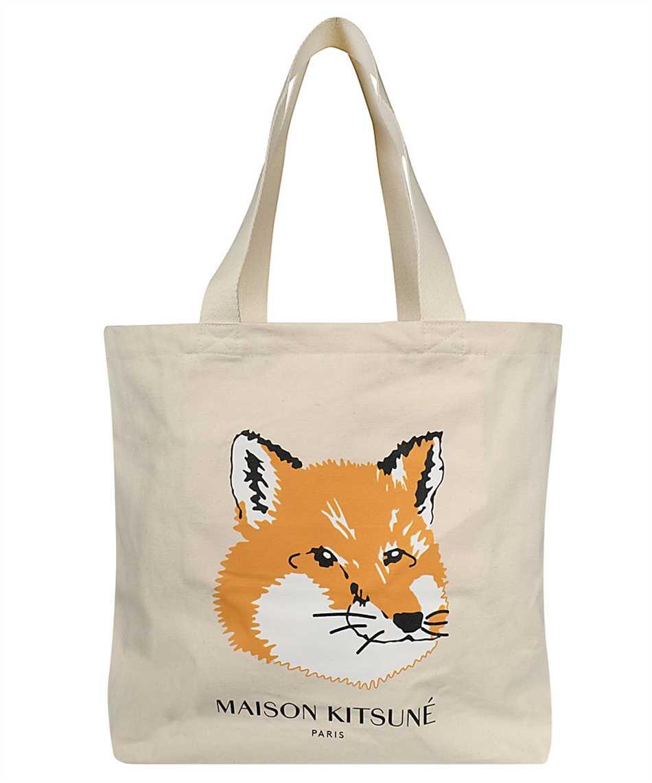 Maison Kitsune EU05110WW0008 FOX HEAD TOTE Tasche 1