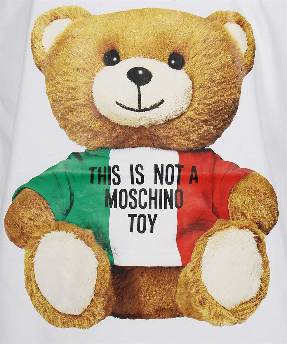 Moschino V0721 2040 ITALIAN TEDDY BEAR T-Shirt 3