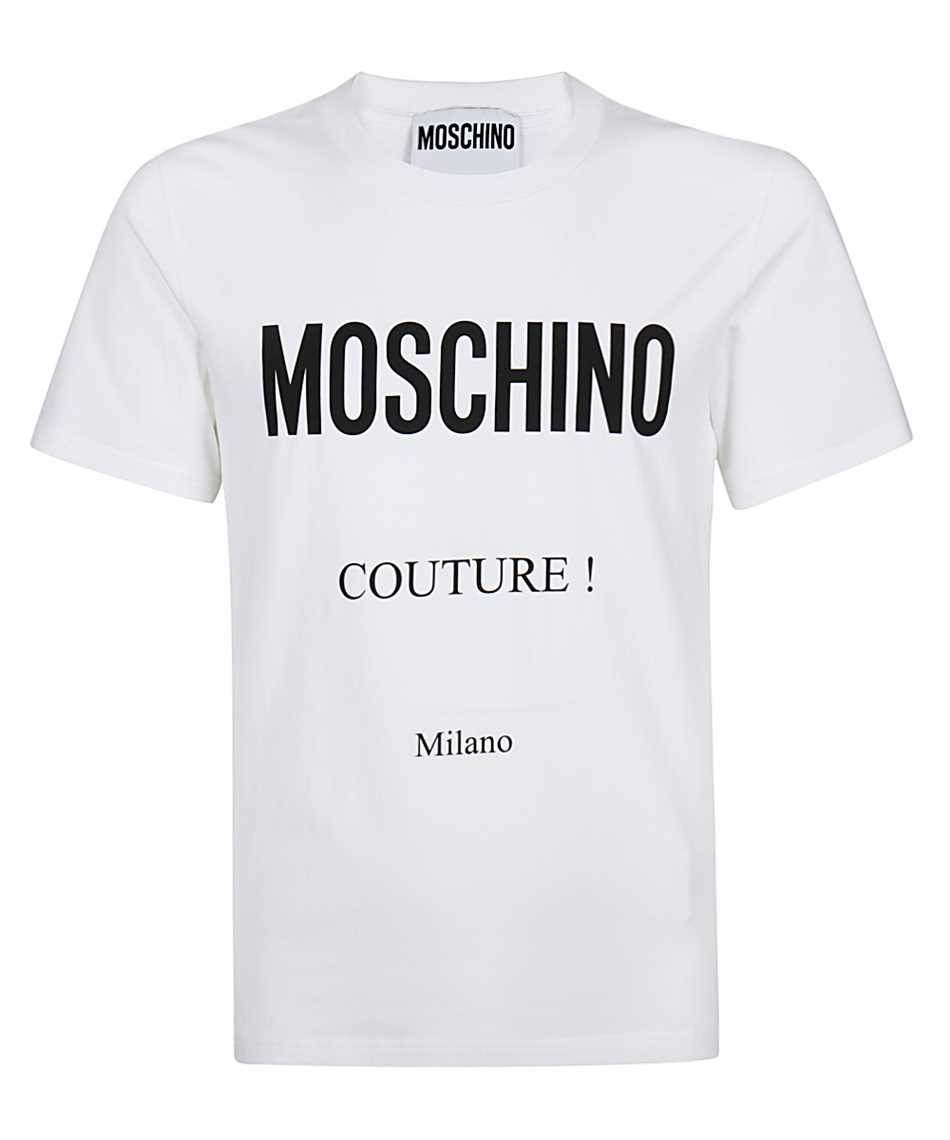 Moschino A0730 2039 MOSCHINO COUTURE PRINT Tričko 1