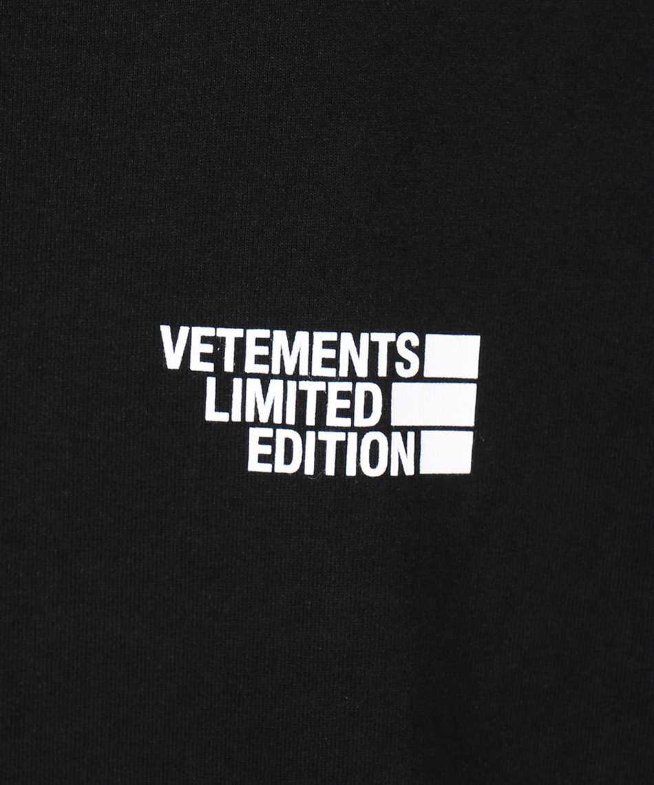 Vetements UE51TR720B LOGO LIMITED EDITION T-shirt 3