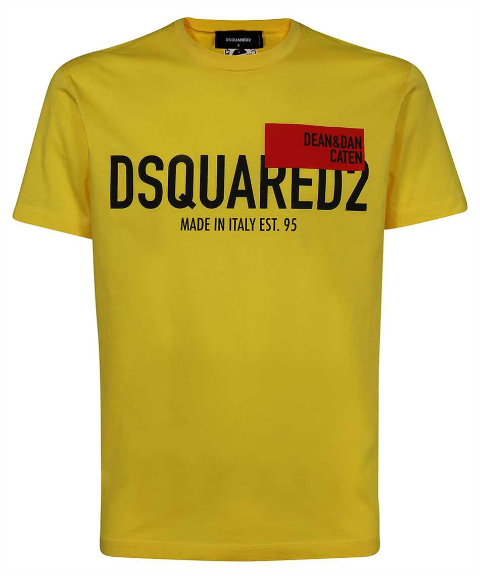 Dsquared2 S71GD1021 S23009 RED FLAG T-shirt 1