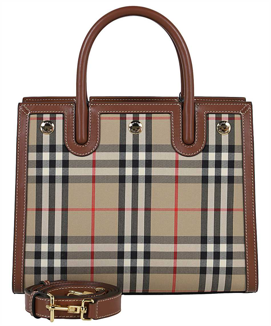 Burberry 8025267 MINI VINTAGE CHECK TWO-HANDLE TITLE Tasche 2