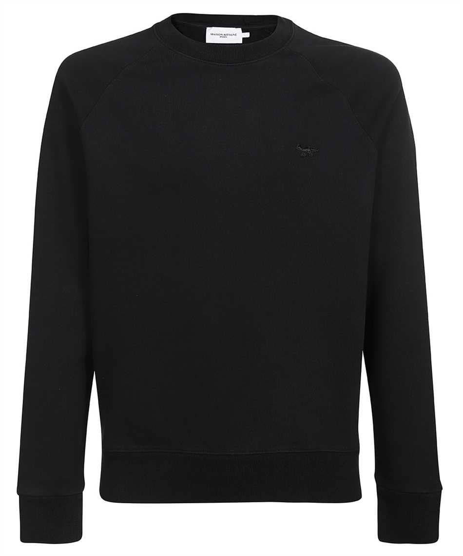 Maison Kitsune HM00319KM0001 TONAL FOX PATCH CLEAN Sweatshirt 1