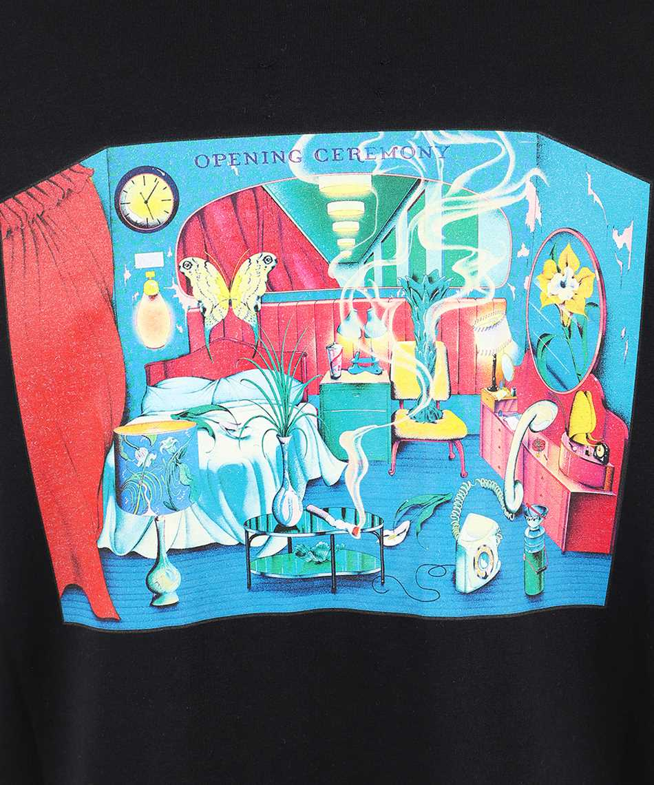 Opening Ceremony YMAA001F20JER003 ROOM PRINT T-shirt 3