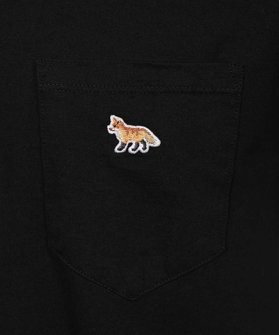 Maison Kitsune GM00116KJ0008 PROFILE FOX PATCH POCKET Tričko 3