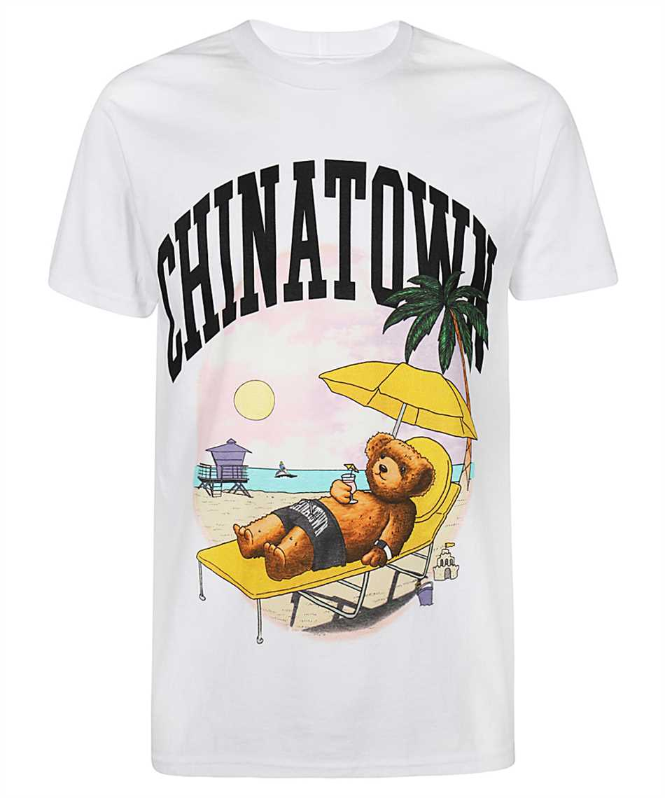 Chinatown Market 1990270 SMILEY BEACH BEAR T-Shirt 1
