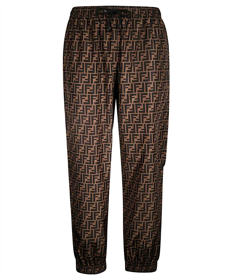 Fendi FAB527 A797 FF NYLON Trousers 1