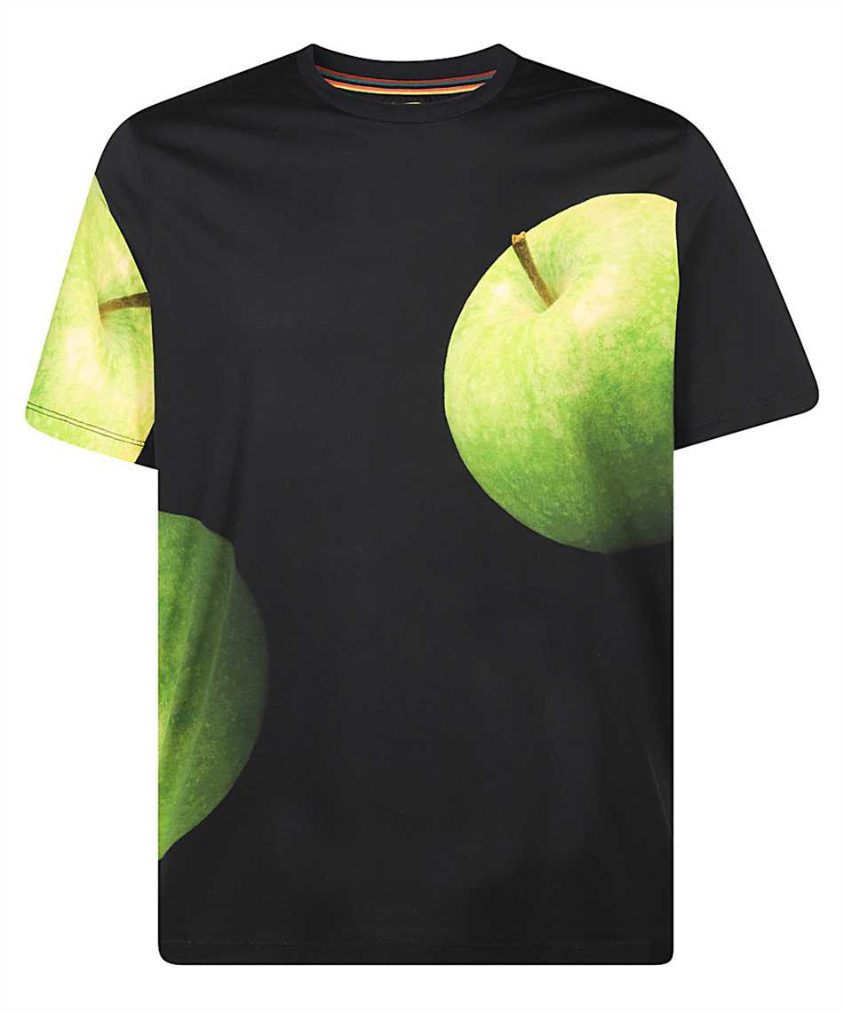Paul Smith M1R 202U APPLE PRINT T-Shirt 1