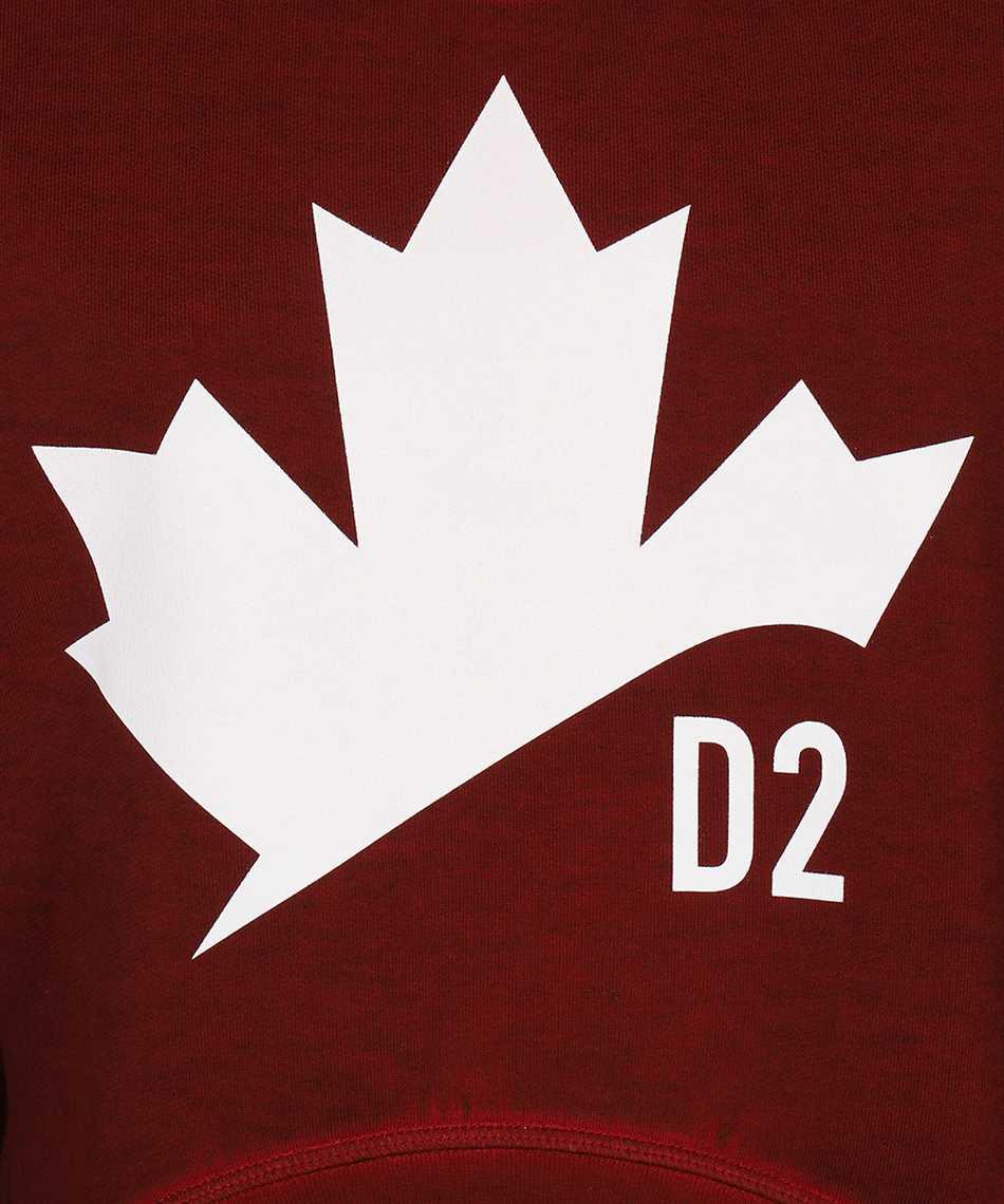 Dsquared2 S75GU0332 S25030 D2 LEAF ASYMMETRIC Sweatshirt 3
