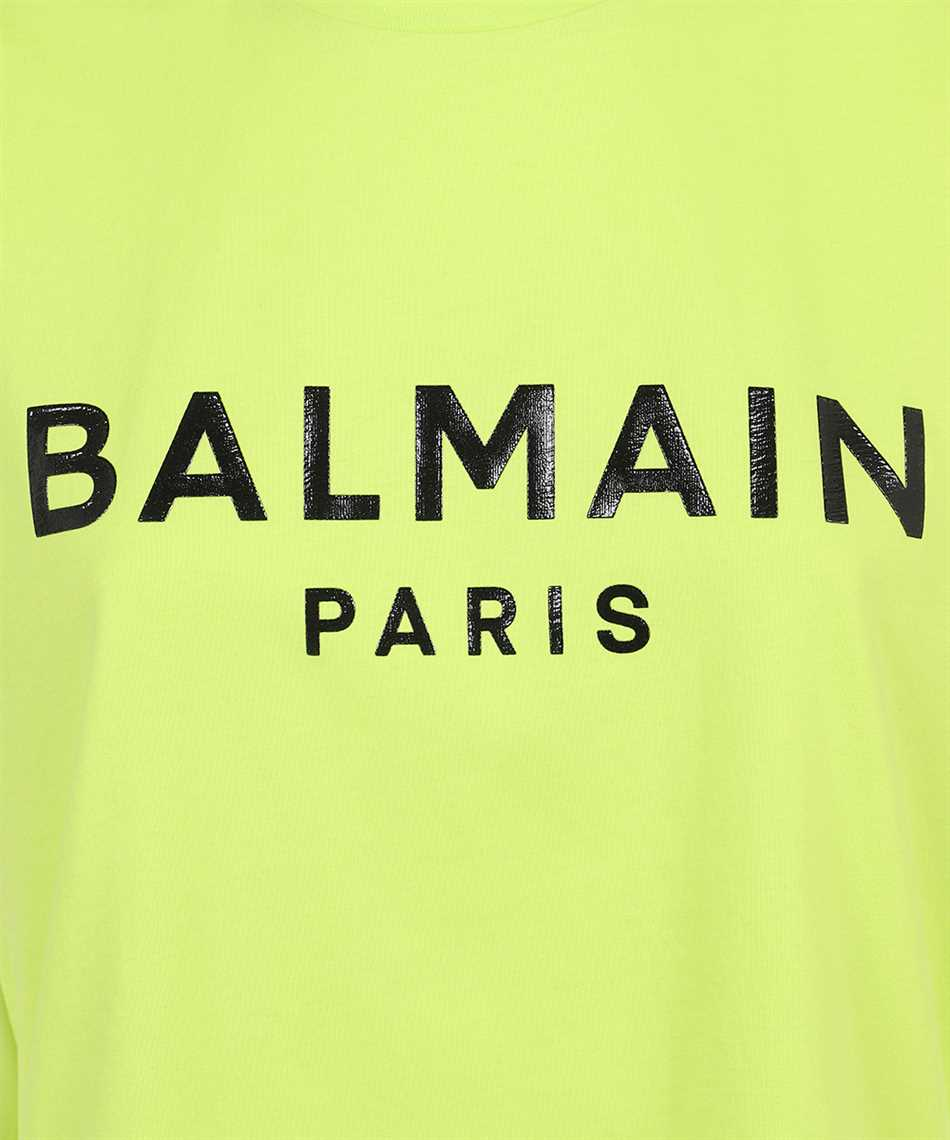 Balmain VF0EF010B035 PRINTED LOGO T-Shirt 3