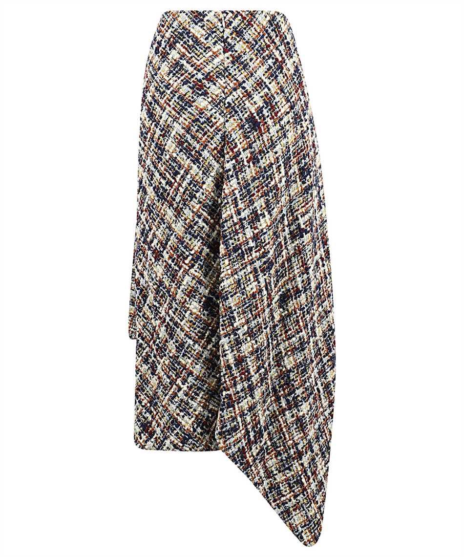 Lanvin RW ST424U 4602 A20 ASYMMETRIC WRAP Skirt 2