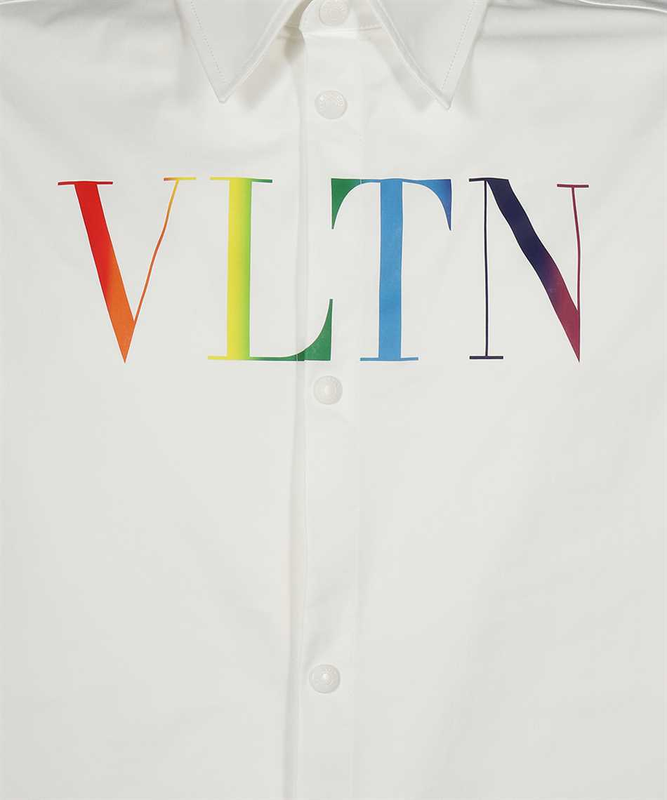Valentino VV3CIA99729 MULTICOLOURED VLTN LOGO Shirt 3