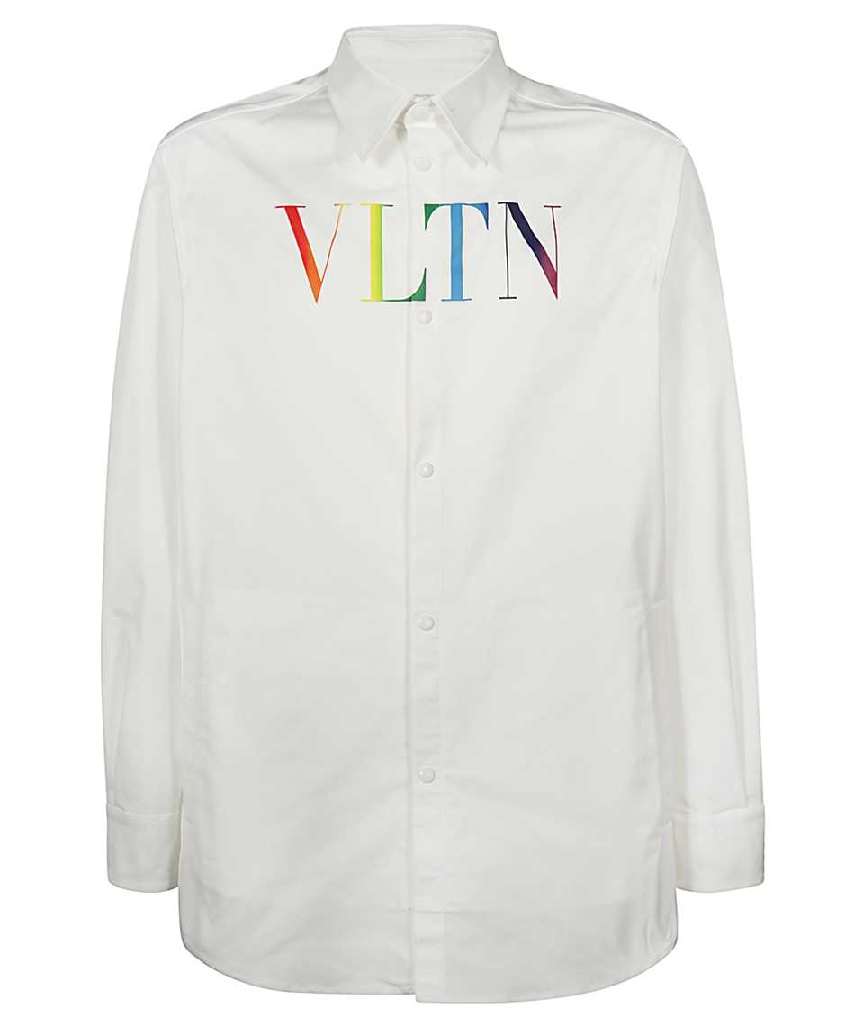 Valentino VV3CIA99729 MULTICOLOURED VLTN LOGO Shirt 1