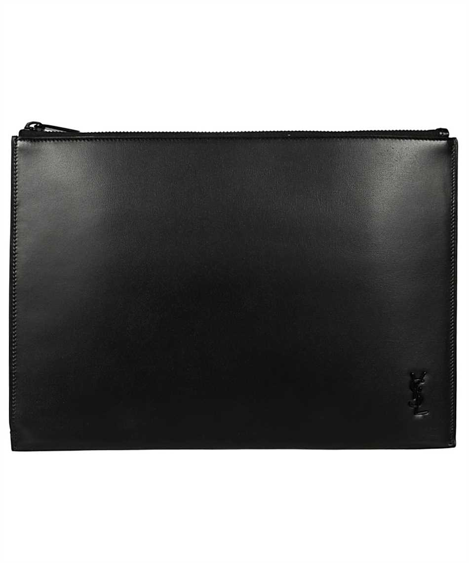 Saint Laurent 607779 1JB0U TINY MONOGRAM iPad cover 1