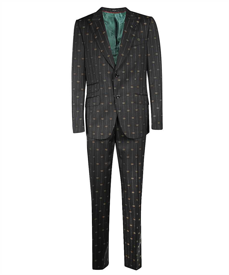 Gucci 630155 ZAD99 HERITAGE INTERLOCKING G STRIPE Oblek 1