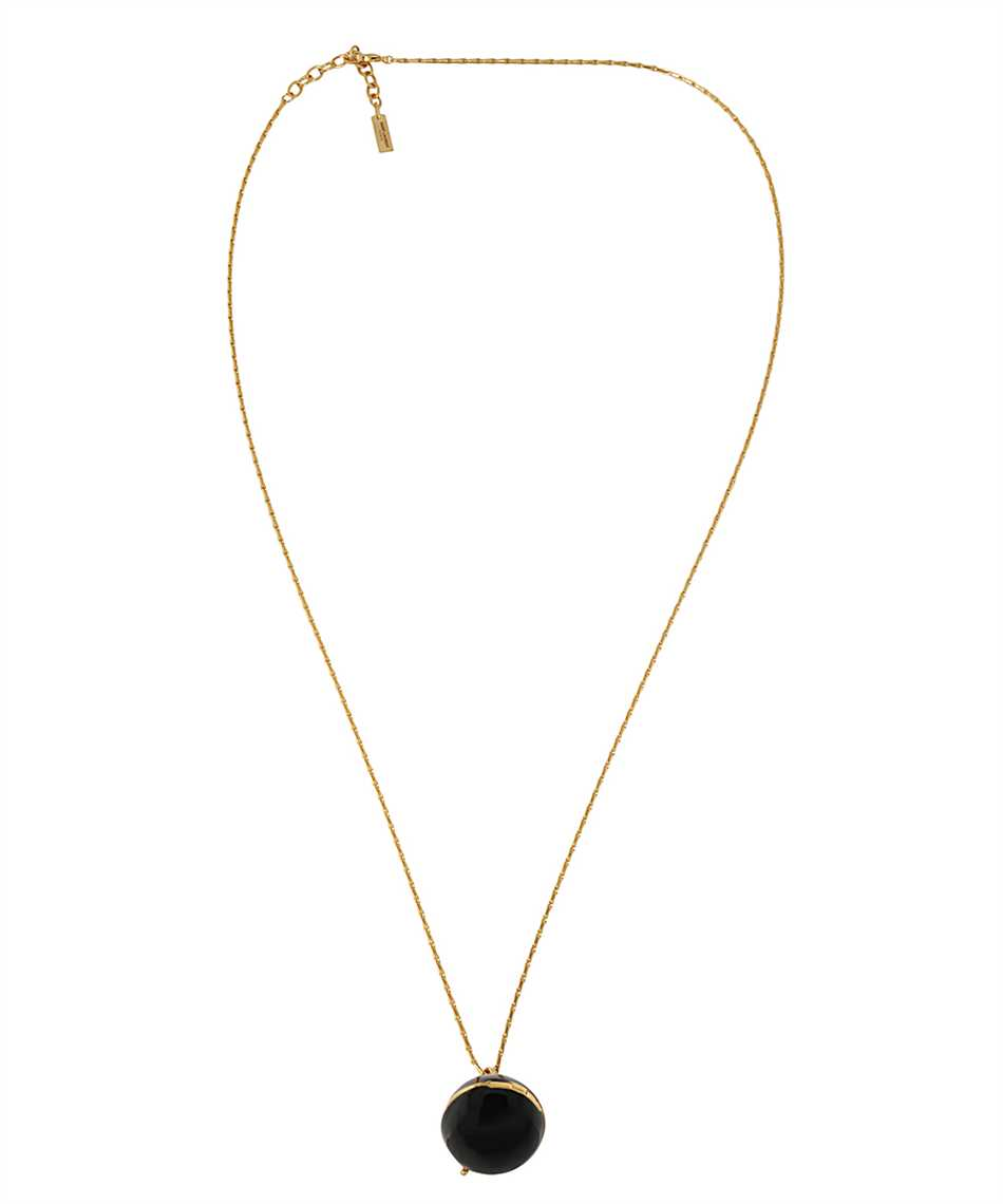 Saint Laurent 632072 Y1521 SPHERE LOCKET BOX PENDANT Necklace 1