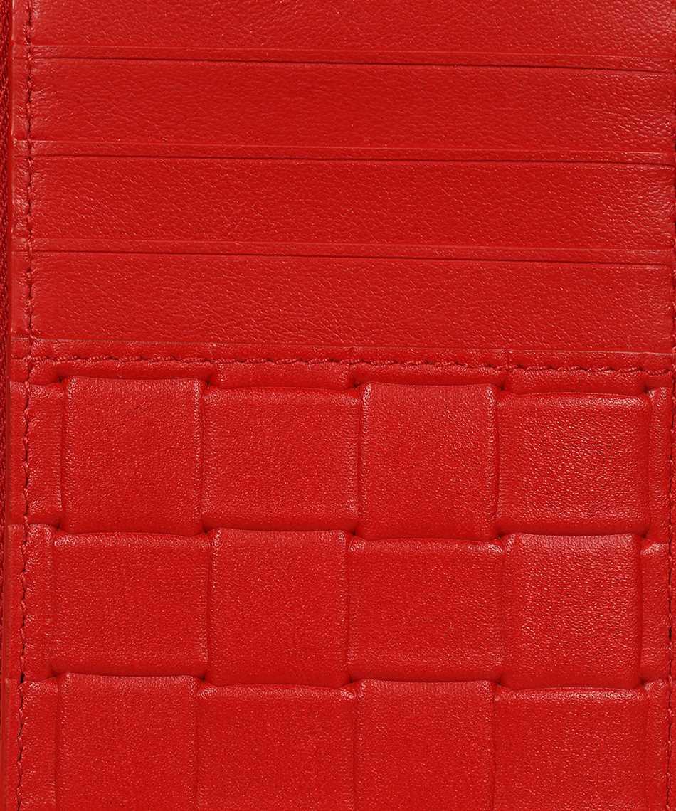 Bottega Veneta 591379 V0AQ1 PRINTED GRID Card holder 3