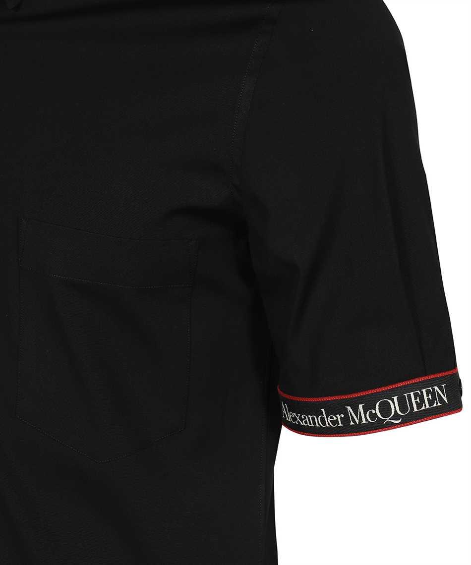 Alexander McQueen 642400 QQN44 LOGO TAPE BRAD PITT Shirt 3
