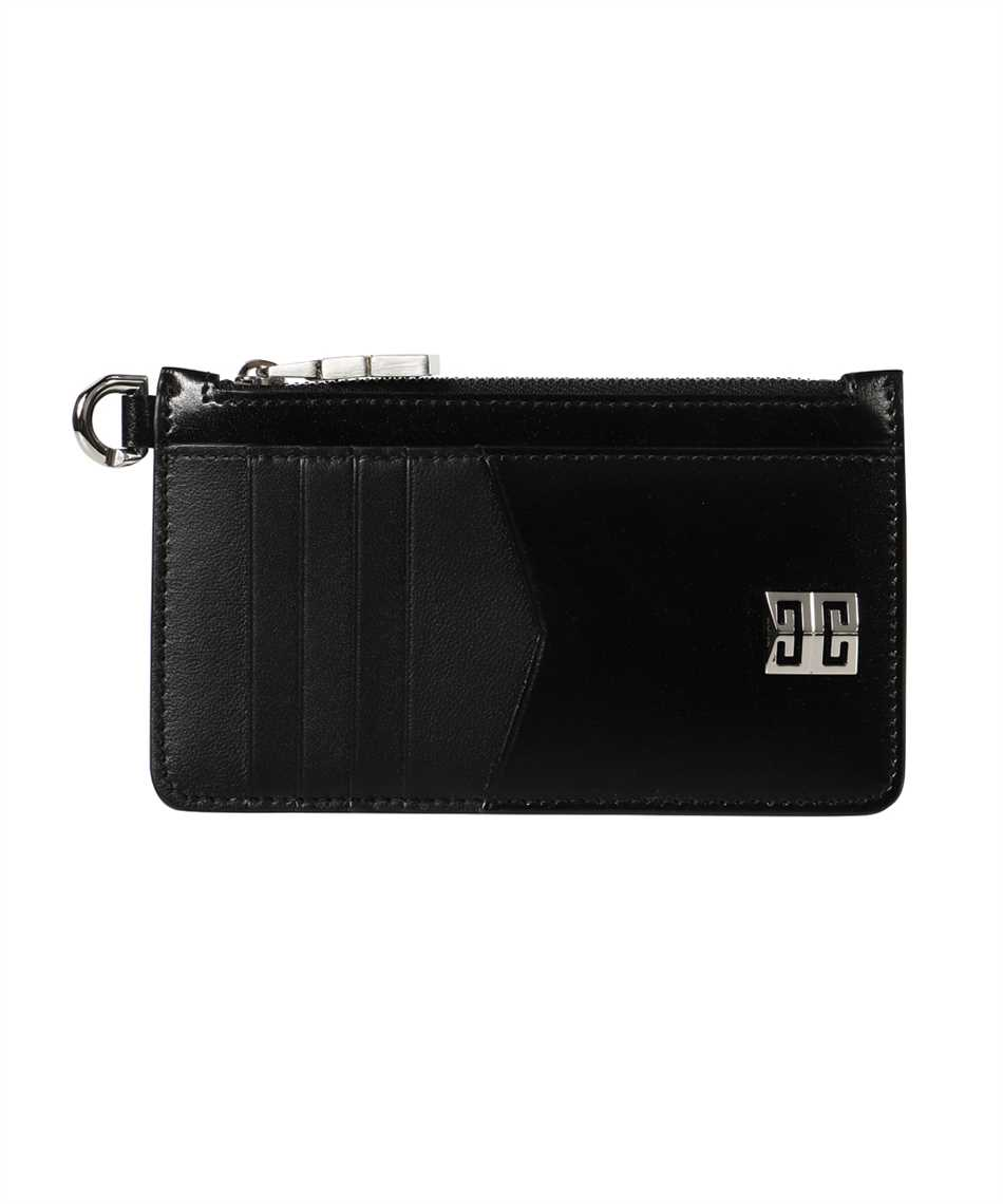 Givenchy BB60GXB00D 4G ZIPPED BOX LEATHER Card holder 1